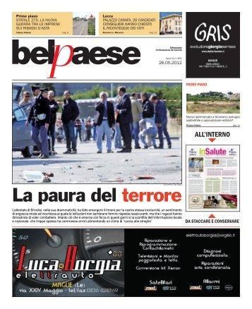 La paura del terrore - Bel Paese Web