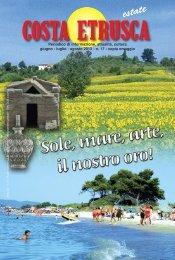 Giugno - Luglio - Agosto 2013 - Costa Etrusca
