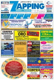 Zapping 01 – 2011 - diAlessandria.it
