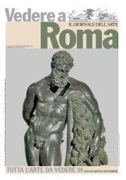TUTTA L'ARTE DA VEDERE IN - Il Giornale dell'Arte