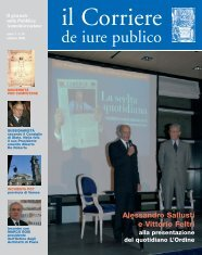 Ottobre 2008 - de Iure Publico