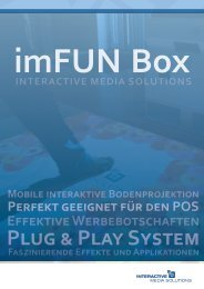 PRODUCT LINE imFUN Box - Solutions