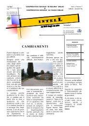 CAMBIAMENTI - Cooperativa Sociale Di Bolina ONLUS