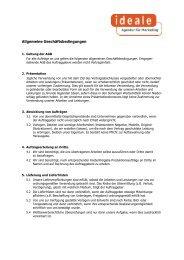 Laden Sie hier die AGBs als PDF-Datei - ideale Agentur