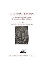 Il lavoro perverso - Istituto Italiano per gli Studi Filosofici