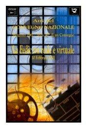 La Fedic tra reale e virtuale - Cinevideo Club Bergamo