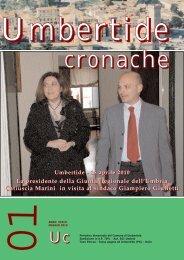 Umbertide Cronache numero 1 anno 2010 - Comune di Umbertide