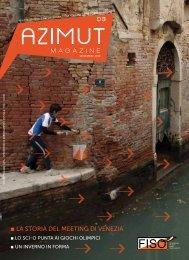 03. Azimut Magazine n°3 - Federazione Italiana Sport Orientamento