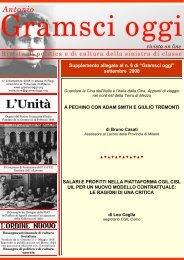 Supplemento a Gramsci oggi-numero 4-2008.pub