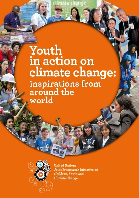 Youth in action on on climate climate change: