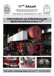 Beilage zu Heft I,2013 - Vulkan-Expreß
