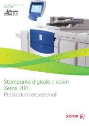 Stampante digitale a colori Xerox® 700 - Computer srl