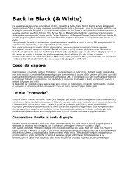 Tecniche di bianconero in Photoshop - Stefano Muzio