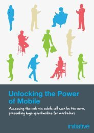 Unlocking the Power of Mobile - Initiative