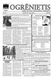 22. marts - Ogres novads