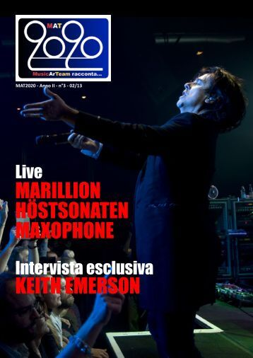 marillion höstsonaten maxophone keith emerson - MAT2020