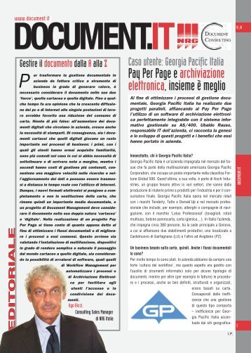 Numero 13 - Ottobre 2006 - Document.it