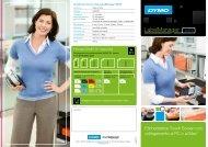 Etichettatrice Touch Screen con collegamento al PC o al Mac® - Dymo