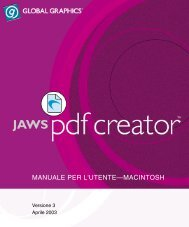 manuale per l'utente—macintosh - Jaws PDF Software