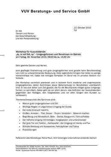 VUV Beratungs- und Service GmbH - VUV Vereinigte Unternehmer