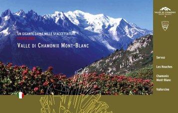 VALLE DI ChAMoNIx MoNT-BLANC