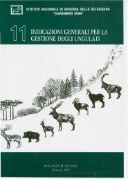 Indicazioni generali per la gestione degli ungulati - Ermes Agricoltura