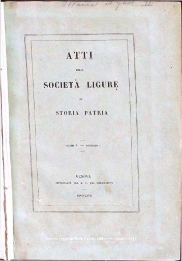 PDF - Società Ligure di Storia Patria