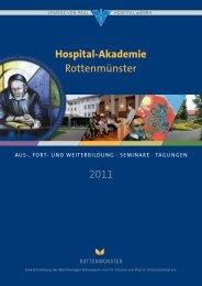 Fort- und Weiterbildung - Seminare - Tagungen - 2011