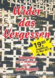 Boppard in schwerer Zeit Flyer.cdr