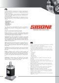 Max output shaft radial load - SIBONI srl - Page 3