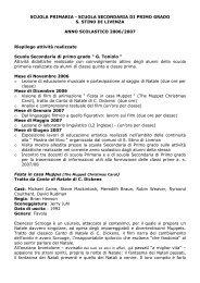 Scuola Primaria e Scuola Secondaria di 1° grado di S. Stino - Istituto ...