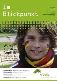 ImBlickpunkt 01.2008 (PDF) - VWG Braunschweig