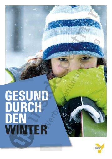 """Leseprobe """"Gesund durch den Winter"""" (PDF) - ip inside partner"""