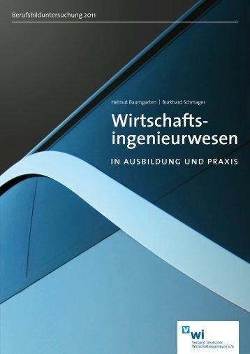 Vorschauversion Berufsbilduntersuchung 2011 - Verband ...