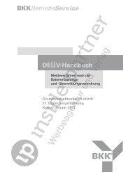 DEÜV-Handbuch - ip inside partner