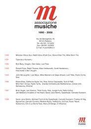 1990 Miroslav Vitous duo, Rabih Abou Khalil Duo, Steve Khan Trio ...