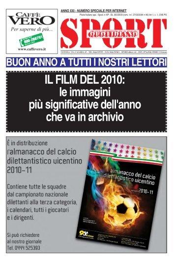 IL FILM DEL 2010: le immagini più significative ... - SPORTquotidiano