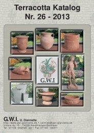 Katalog 2013 (pdf, 16 MB, Auflösung Grafik 150 dpi) - GWI Giannetta