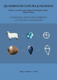Anno 1 - n° 1 - 2012 - Centro Italiano di Psicologia Analitica