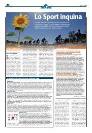 Lo sport che inquina - Sport24h.it