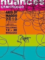 arti di maggio. il programma on line - Comune di Salerno