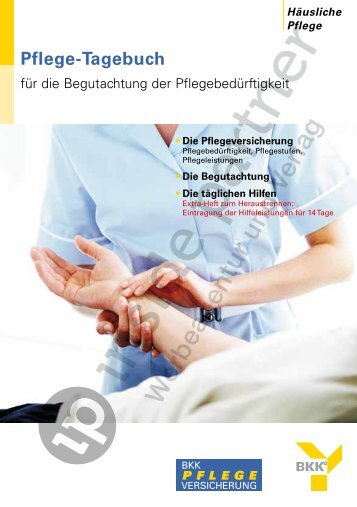 Pflege-Tagebuch - ip inside partner
