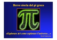 Storia del Pi-Greco - Liceo Scientifico Galilei