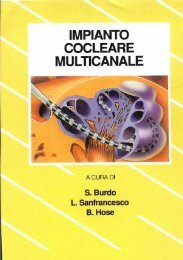Impianto cocleare multicanale.pdf - Audiovestibologia.It