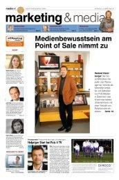 Point of Sale: Konsument und Shopper ansprechen - InstoreTVision
