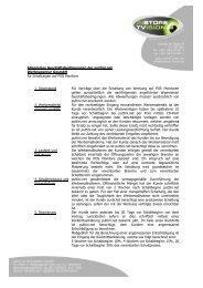 Allgemeine Geschäftsbedingungen der puttini.net ... - InstoreTVision