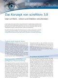 scireWorx 3.0 Situatives Lernen - inside Unternehmensgruppe - Seite 2