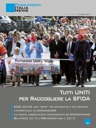 Scarica il notiziario di Maggio 2013 - Parkinson Italia