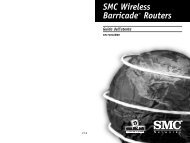 SMC Wireless Barricade™ Routers