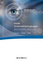 BB Flyer - inside Unternehmensgruppe
